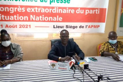 Burkina/Situation nationale: L'UPR demande l'union sacrée des citoyens