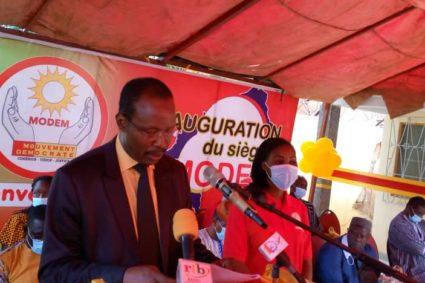 Burkina/politique : Le MODEM a officiellement ouvert ses locaux à Gounghin